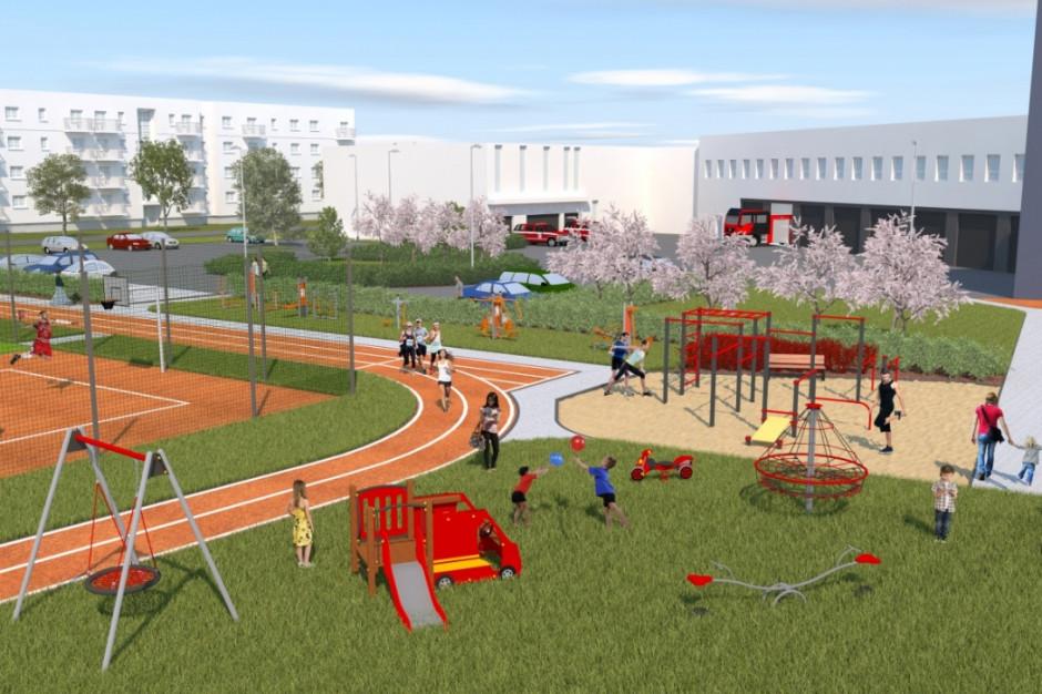 Przetarg na budowę obiektu sportowego na poznańskim Żegrzu