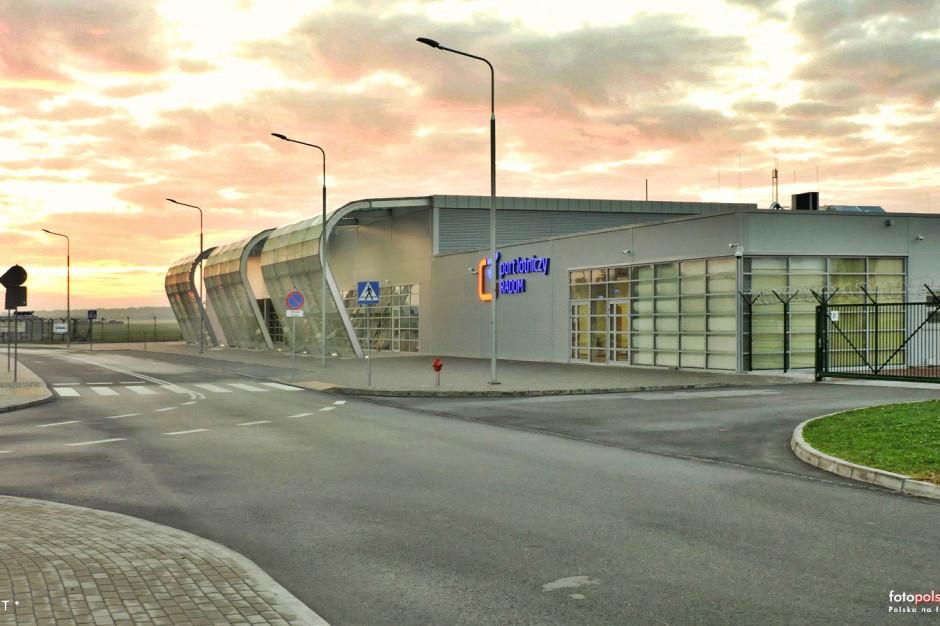 Radom: Droga startowa na lotnisku zostanie przebudowana