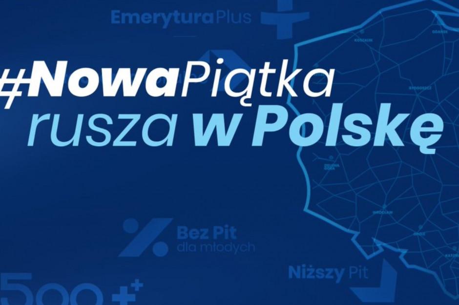 Opolskie: Bus z prezentacją #NowaPiątka odwiedzi gminy