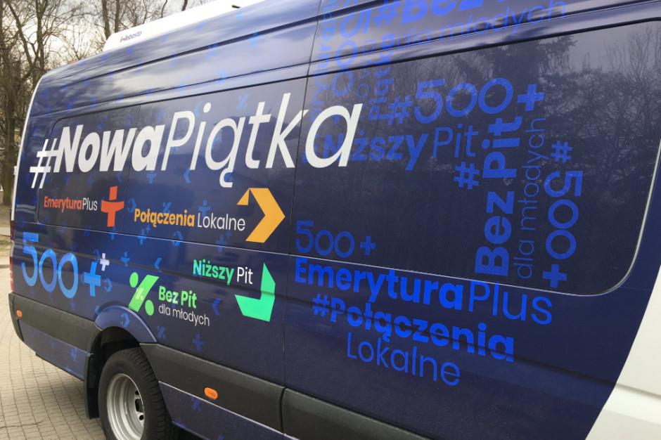 Nowa Piątka w woj. śląskim ma objechać wszystkie 167 gmin