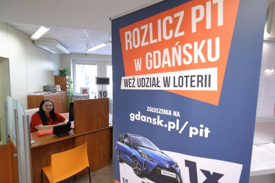 Duże zainteresowanie mieszkańców miejską loterią PIT