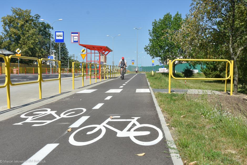 Białystok wybuduje kolejne kilometry ciągów pieszo-rowerowych