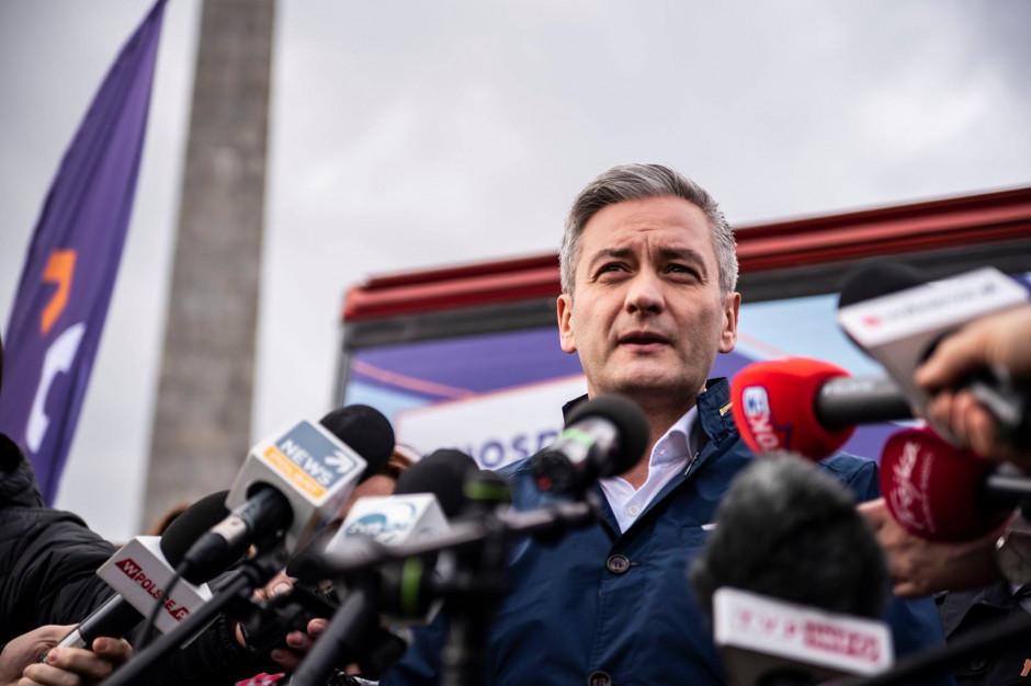 """Robert Biedroń zaprezentował """"Konstytucję Kobiet"""""""
