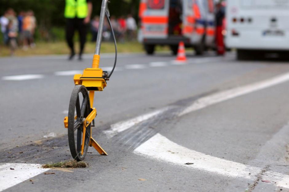 Podlaskie: Po wypadku zablokowana dk8 na trasie Białystok-Augustów