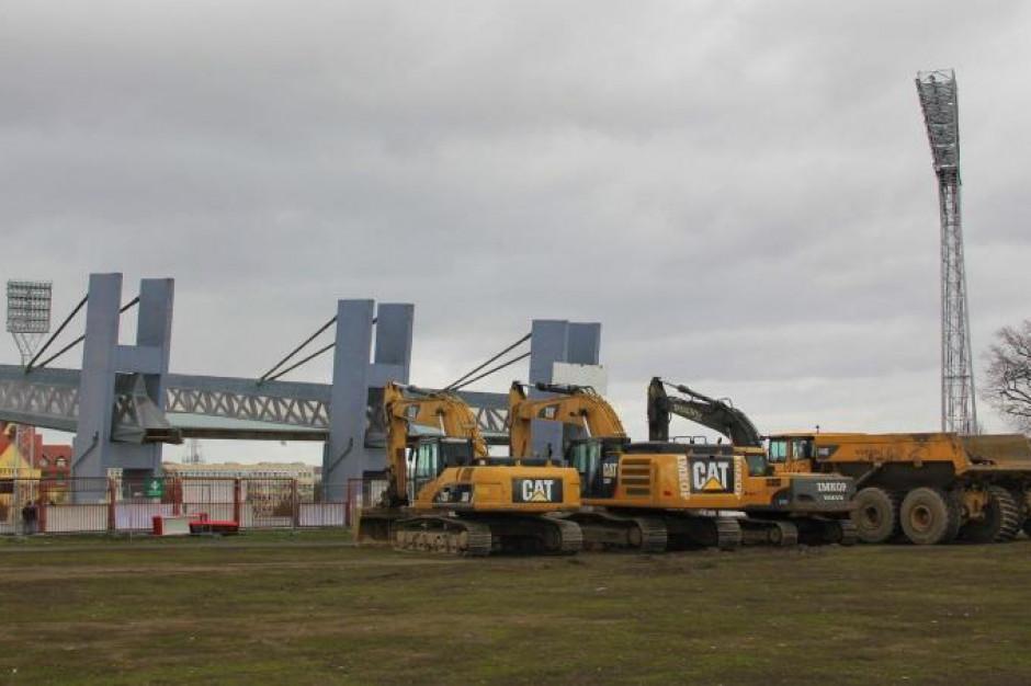 Szczecin: plac budowy stadionu miejskiego przekazany wykonawcy