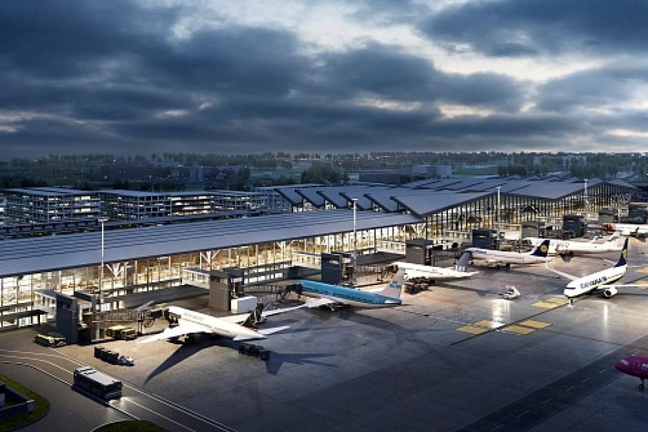 Lotnisko w Gdańsku zostanie rozbudowane. Tak będzie wyglądać nowy terminal
