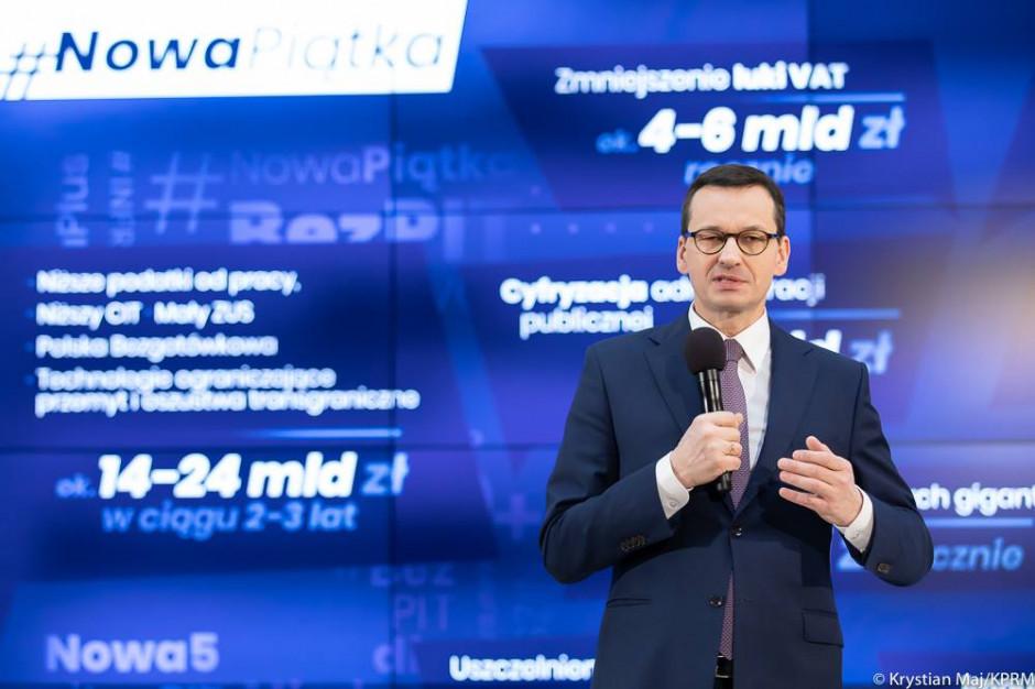 Premier Mateusz Morawiecki: Chcemy poczuć lokalne problemy