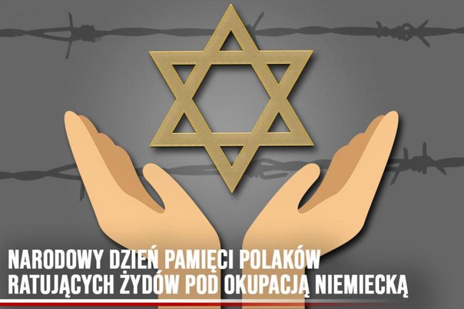 W niedzielę Narodowy Dzień Pamięci Polaków ratujących Żydów pod okupacją niemiecką