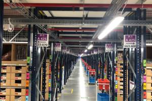 Tysiąc miejsc pracy w centrum logistyki Amazon