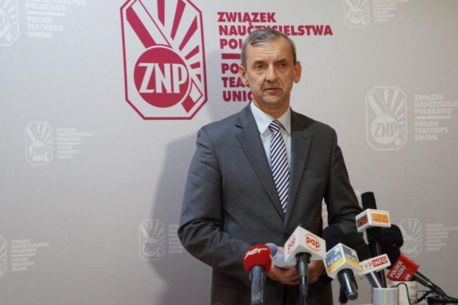 Sławomir Broniarz: strona rządowa nie jest gotowa do merytorycznych rozmów