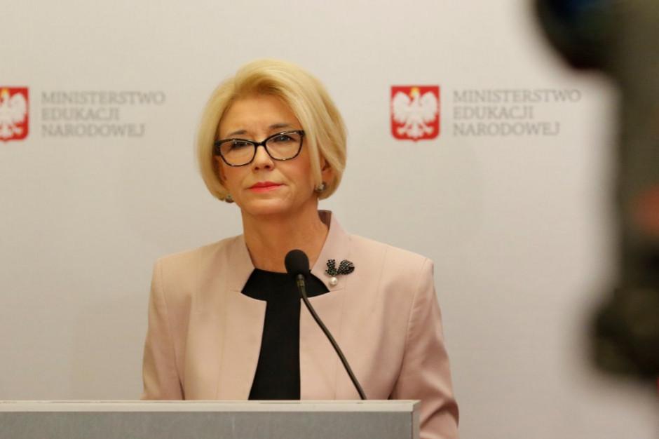 Marzena Machałek: w ponad połowie placówek nie ma zagrożenia protestem