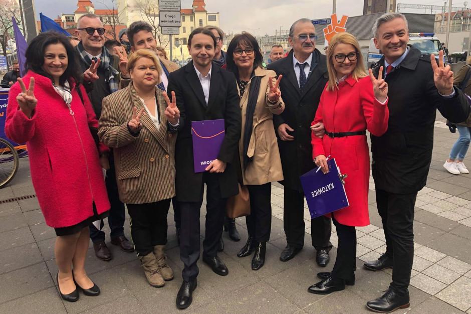 Wiosna zaprezentowała śląską listę kandydatów do Parlamentu Europejskiego