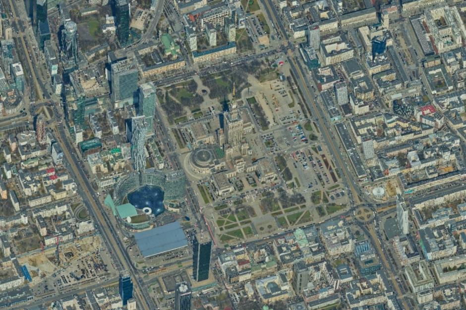 Warszawa ukośna. Nietypowa perspektywa stolicy