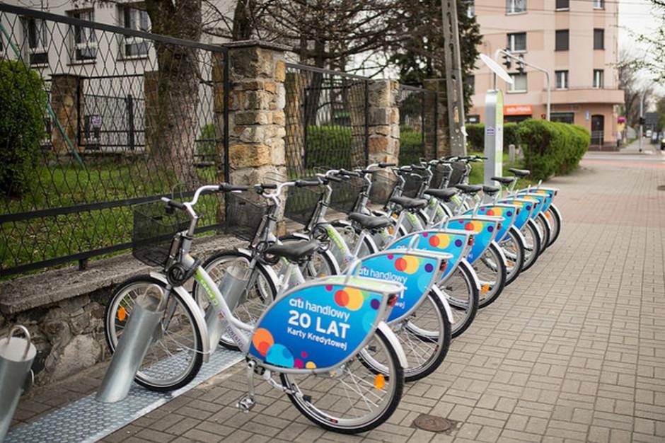 Katowickim rowerem miejskim już nie tylko po Katowicach