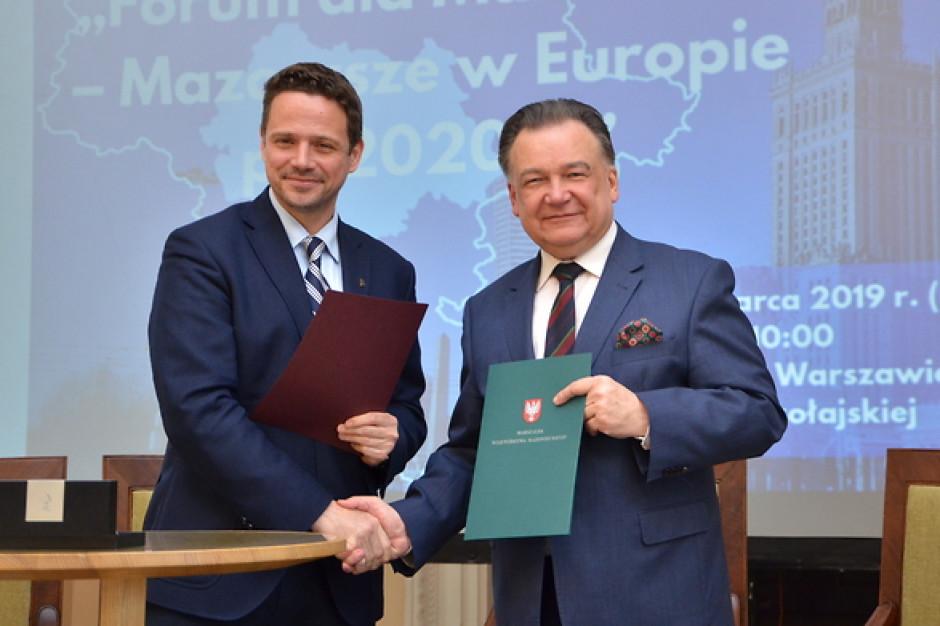 Mazowsze i metropolia warszawska: jeden program operacyjny, ale dwa regiony