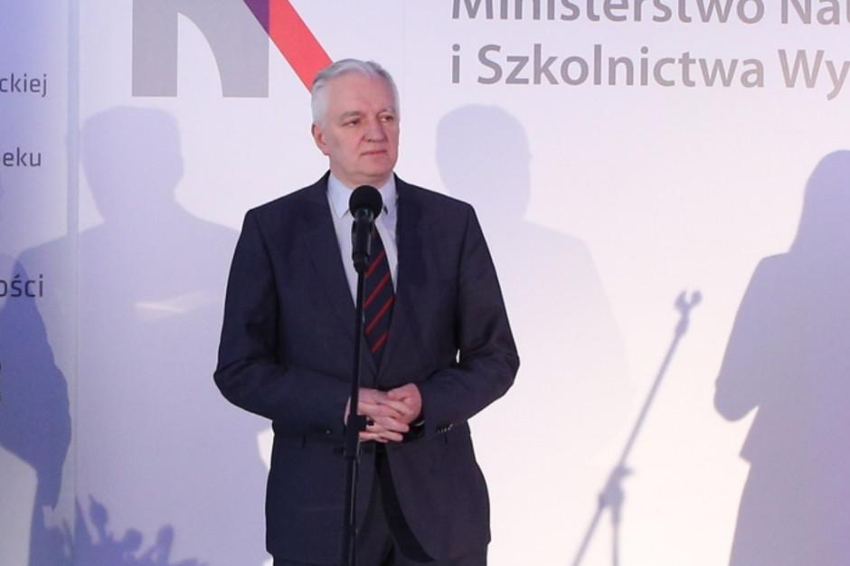 Jarosław Gowin: Potrzebujemy inwestycji w energetykę, oświatę i naukę