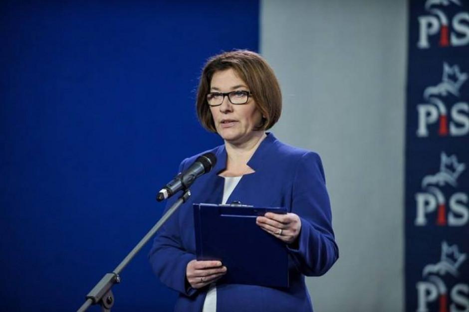 Mazurek: Programy społeczne PiS służą podnoszeniu poziomu życia mieszkańców