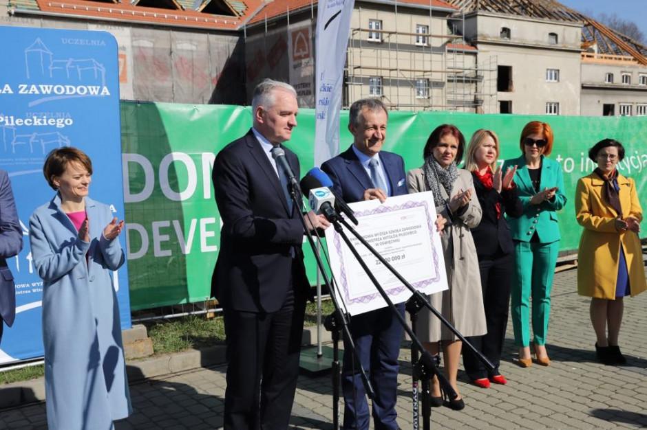 22,5 mln zł na inwestycje dla oświęcimskiej uczelni wyższej