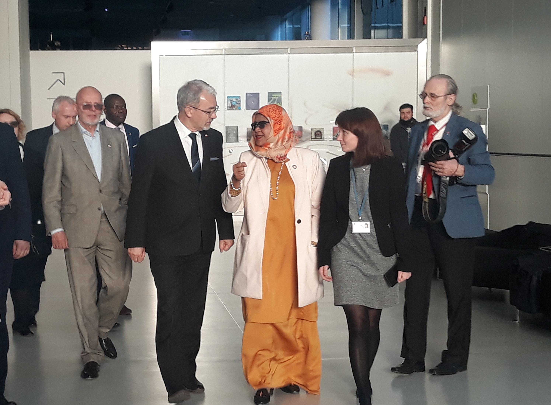 Maimunah Mohd Sharif odwiedziła m.in. Muzeum Śląskie, które powstało na terenie pokopalnianym (fot. Aneta Kaczmarek/PTWP)
