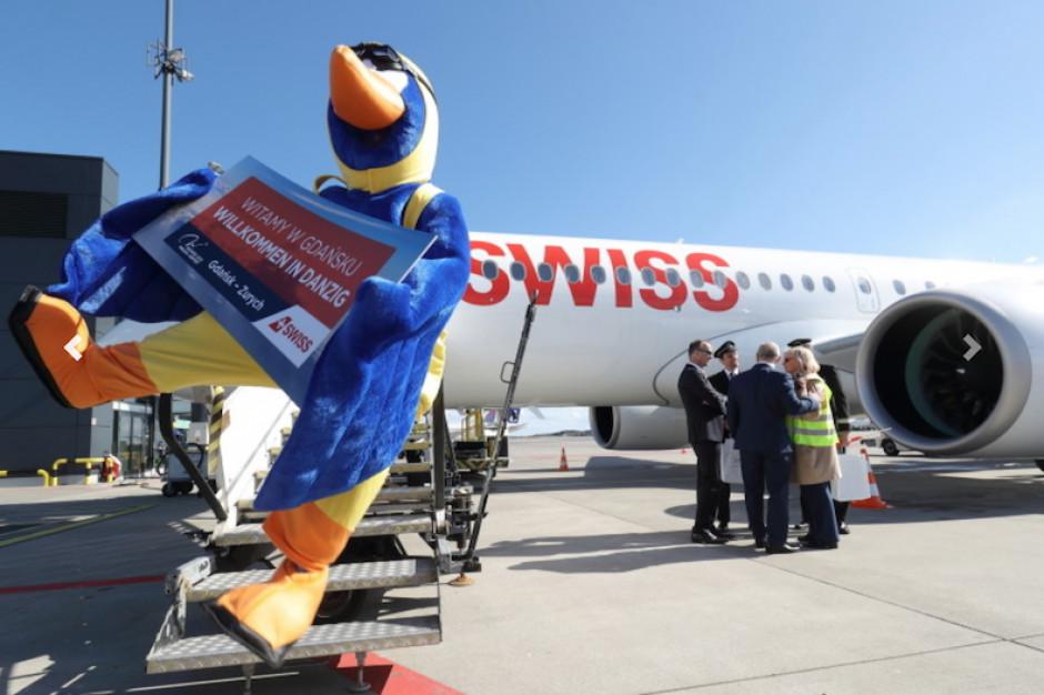 Z Gdańska do Zurychu. Uruchomiono nowe połączenie lotnicze