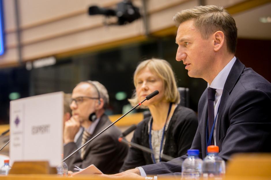 Olgierd Geblewicz zaopiniuje program tworzony przez Komisję Europejską