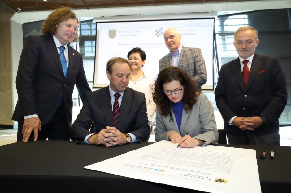 Pomorskie samorządy deklarują działania na rzecz frekwencji w wyborach do PE