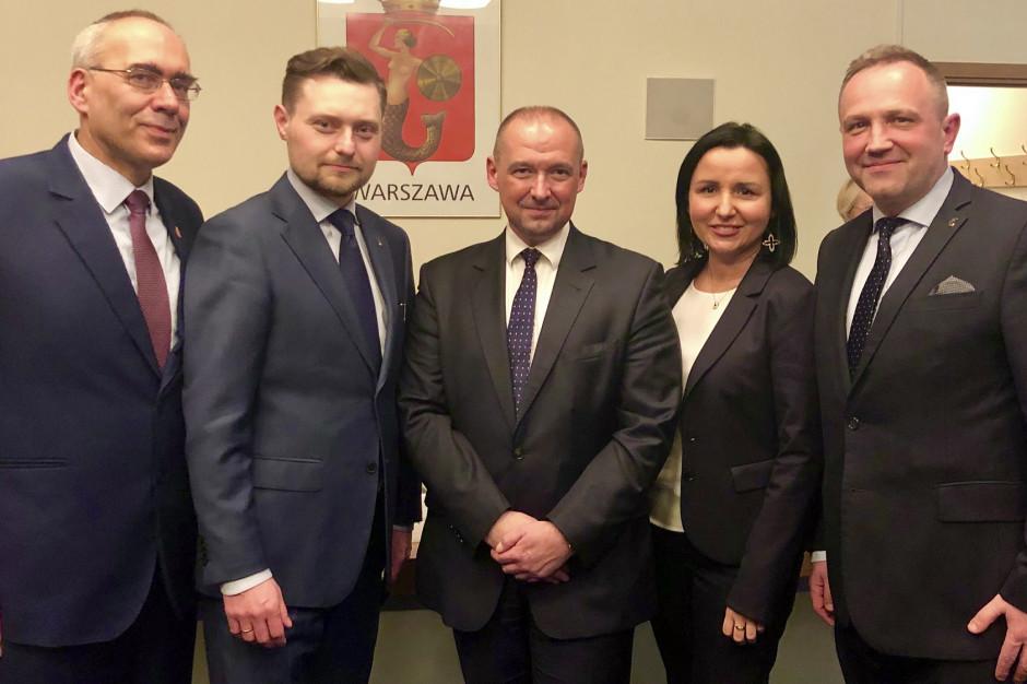 Warszawa: Aleksander Ferens nowym burmistrzem Śródmieścia