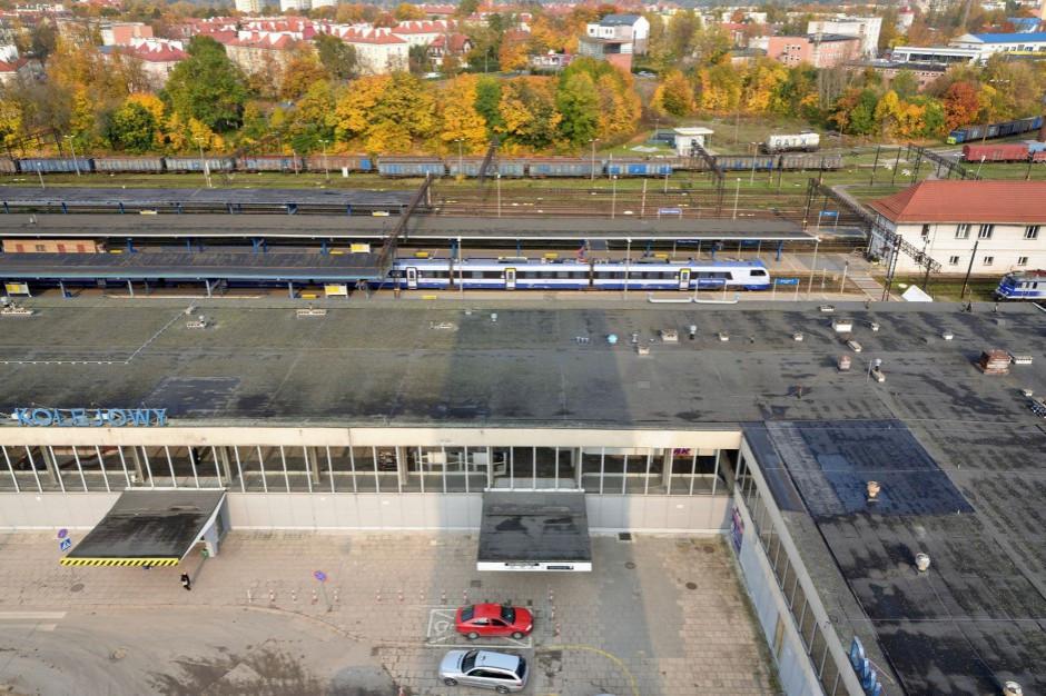 Mieszkańcy chcą, by w miejscu dworca Olsztyn Główny powstał nowy