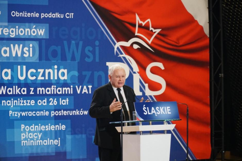 Małe miejscowości tematem konwencji Prawa i Sprawiedliwości w Kadzidle k. Ostrołęki