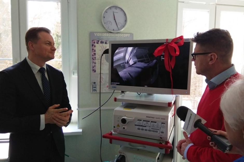 Szpital w Olsztynie otrzymał procesor Defina