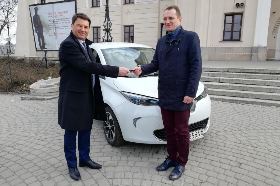 Lublin chce być bardziej eco. Testuje elektryczny samochód