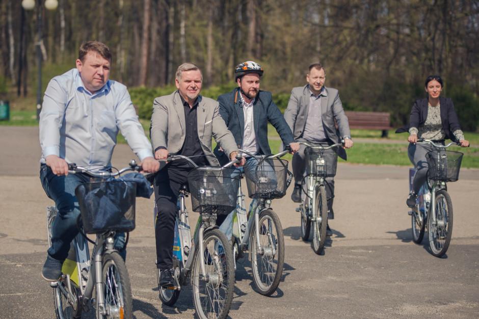 Katowice, Chorzów, Tychy i Sosnowiec ze zintegrowanym systemem wypożyczalni rowerów