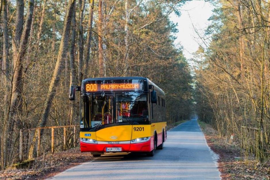 Warszawa: od soboty autobusy linii 800 pojadą do Palmir