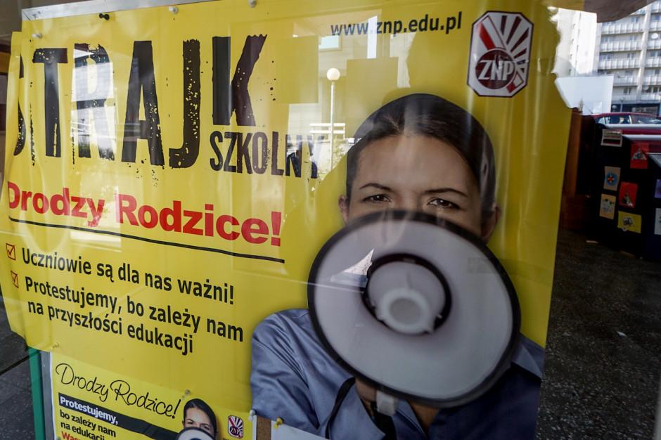 Związek Nauczycielstwa Polskiego do uczniów: protestujemy w trosce o waszą przyszłość