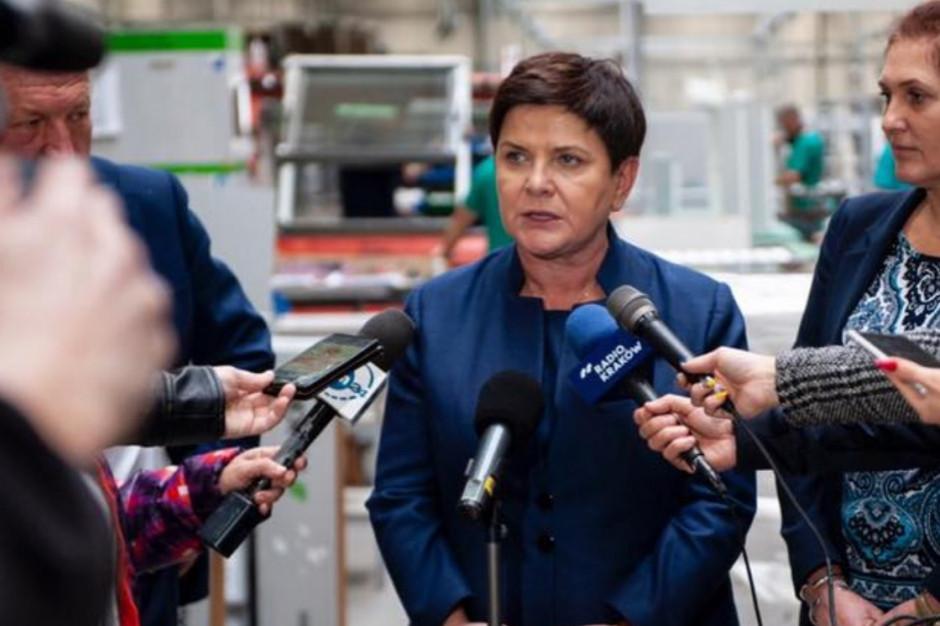 Beata Szydło: po raz kolejny zapraszamy ZNP i FZZ do prowadzenia rozmów