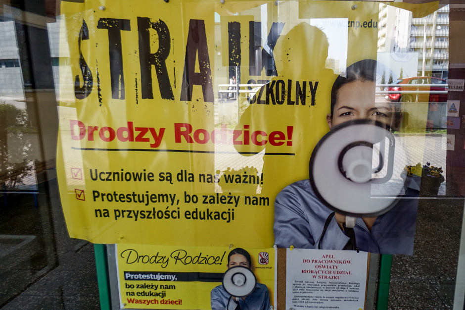Sławomir Broniarz: w strajku uczestniczy ok. 600 tys. nauczycieli