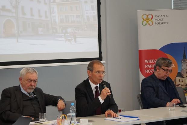 Związek Misat Polskich chce rozszerzyć skład prezydium o czwartego wiceprezesa (fot. Związek Miast Polskich)