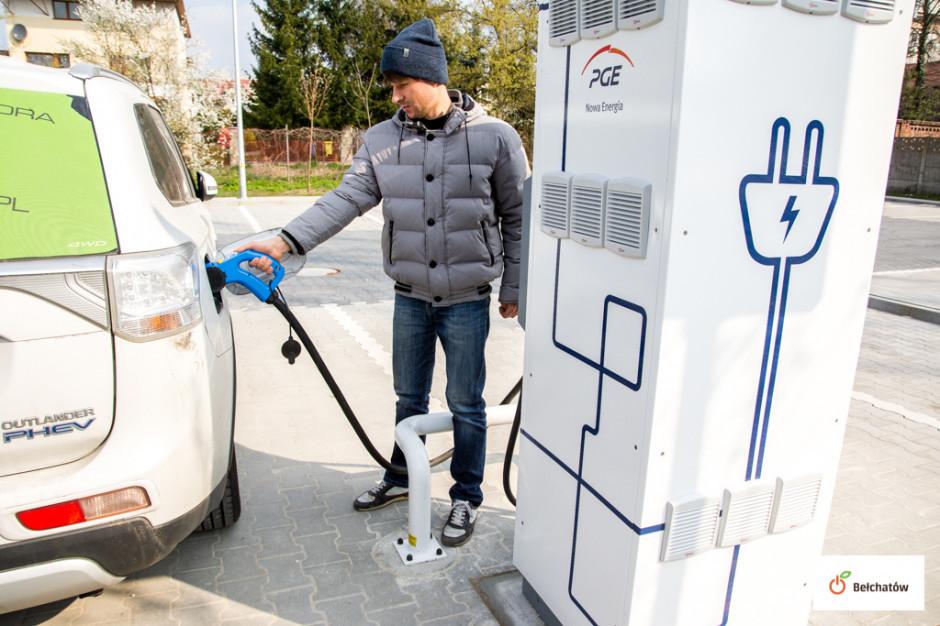 W Bełchatowie można już naładować samochód elektryczny