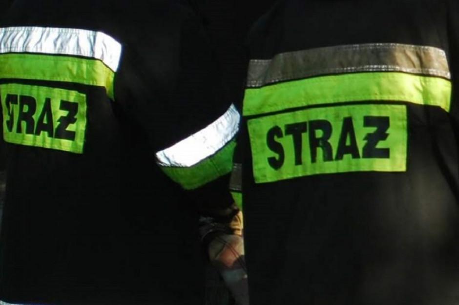 12 osób, w tym 9 dzieci, w szpitalu po pożarze w Ptakowicach
