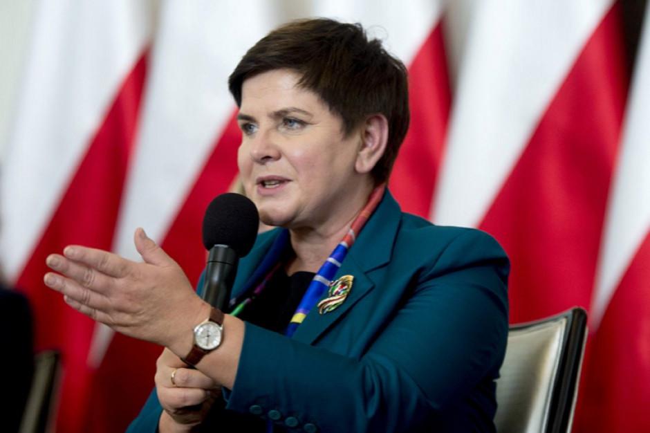 Za czas strajku nie są wypłacane wynagrodzenia i wszyscy o tym wiedzą - przypomina Beata Szydło