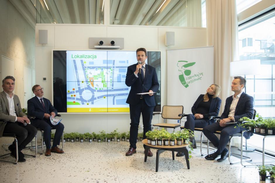 Warszawa: rozstrzygnięto przetarg na budowę chodników oczyszczających powietrze.  Inwestycja za ponad 5 mln zł
