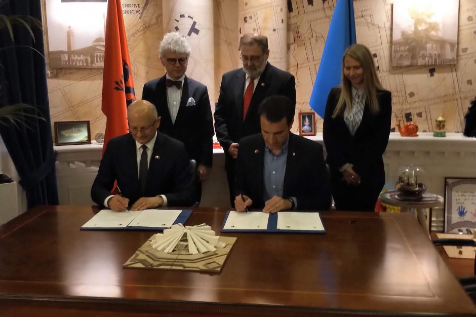 Lublin i Tirana będą współpracować. Podpisano list intencyjny