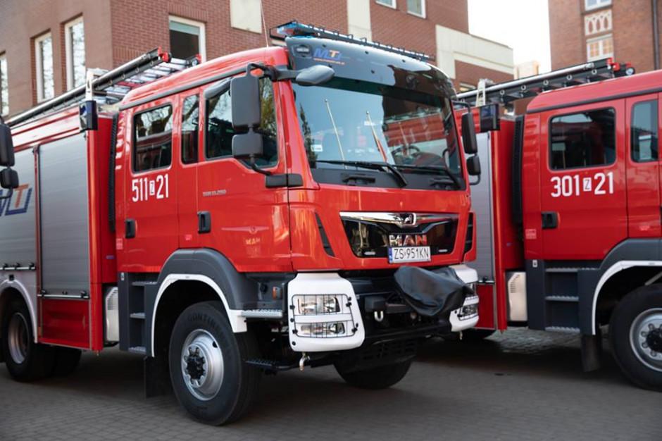 Strażacy z Pomorza Zachodniego dostaną nowe wozy