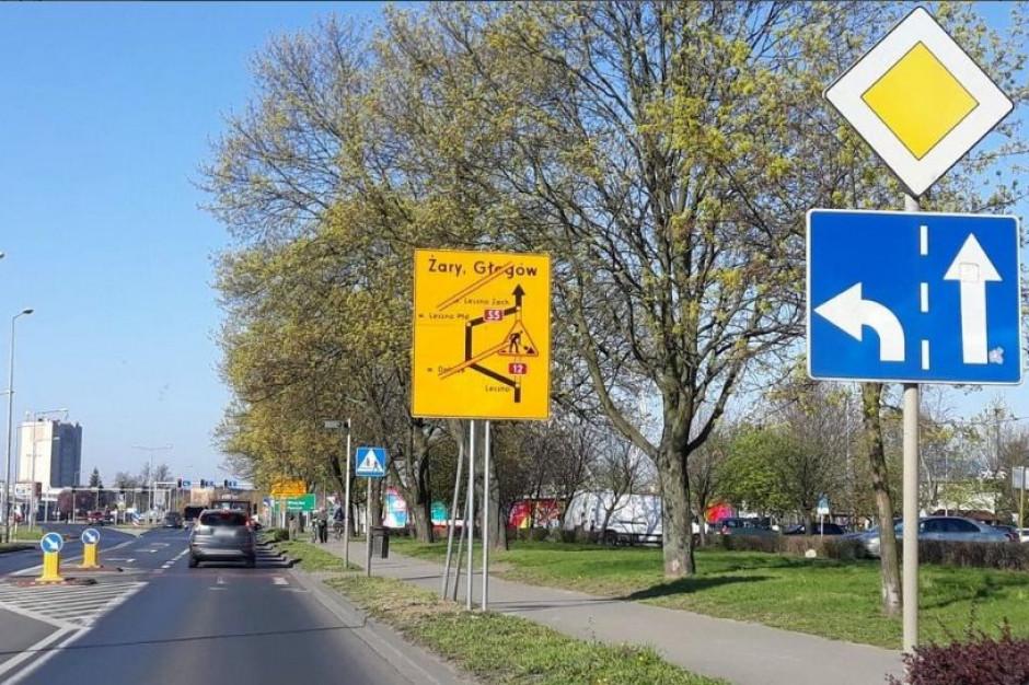 Ciężarówki omijają centrum Leszna. To decyzja prezydenta