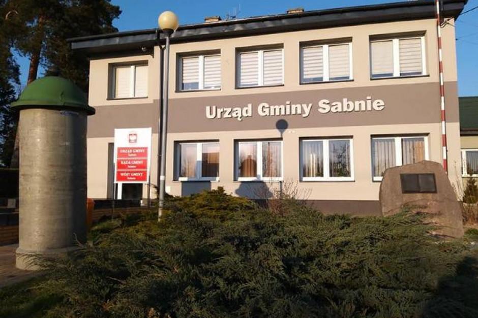Gmina Sabnie. Nowi radni chcą obniżyć wysokość diety