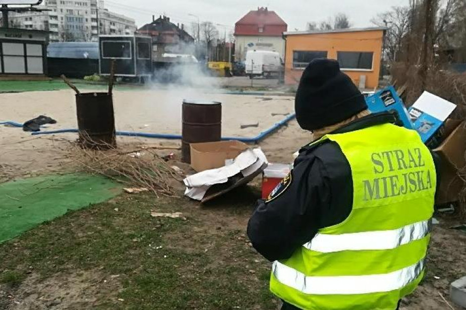 Straż Miejska w Poznaniu podsumowała sezon grzewczy