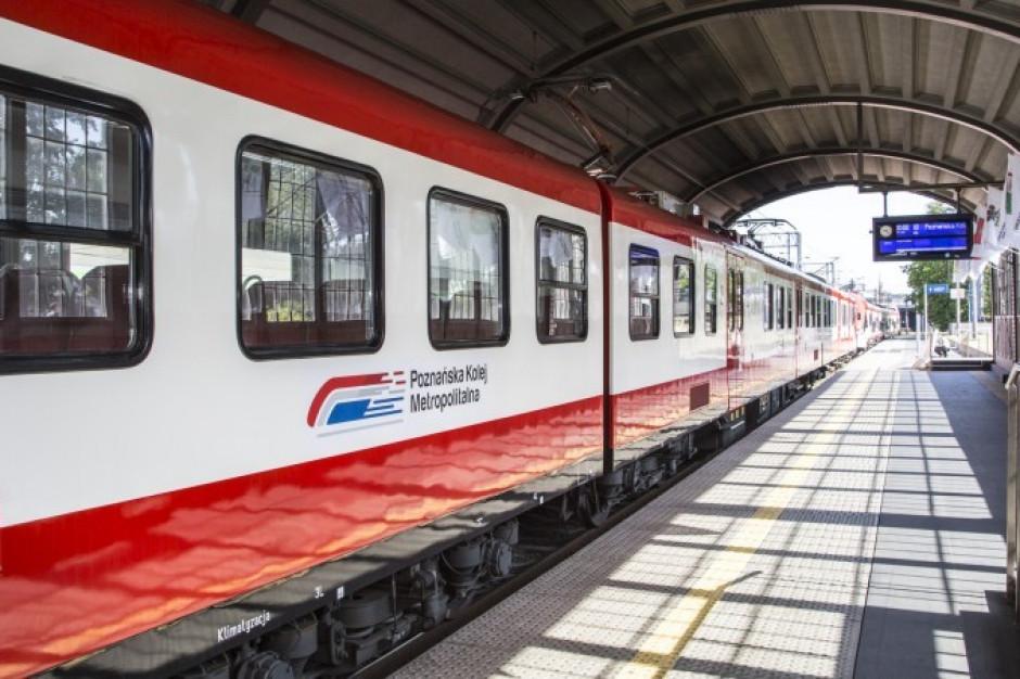 Poznańska Kolej Metropolitalna zwiększa zasięg