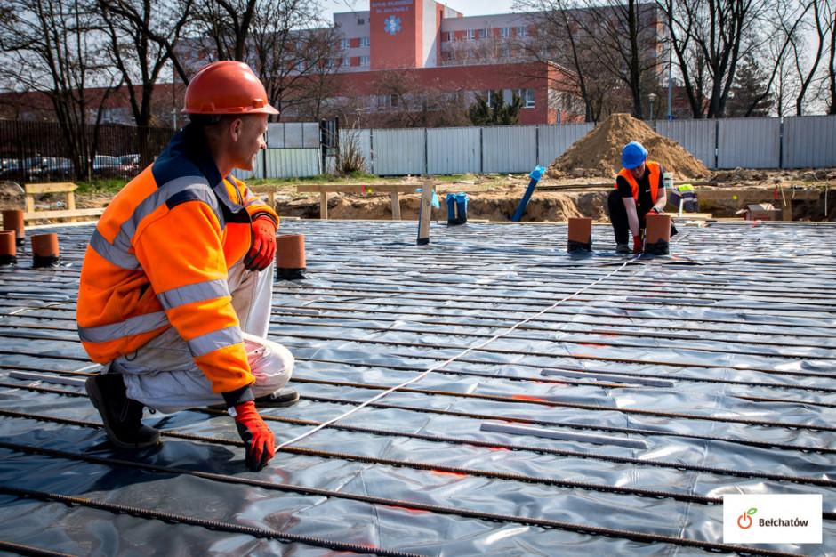 Trwa budowa węzła przesiadkowego. Finisz w grudniu
