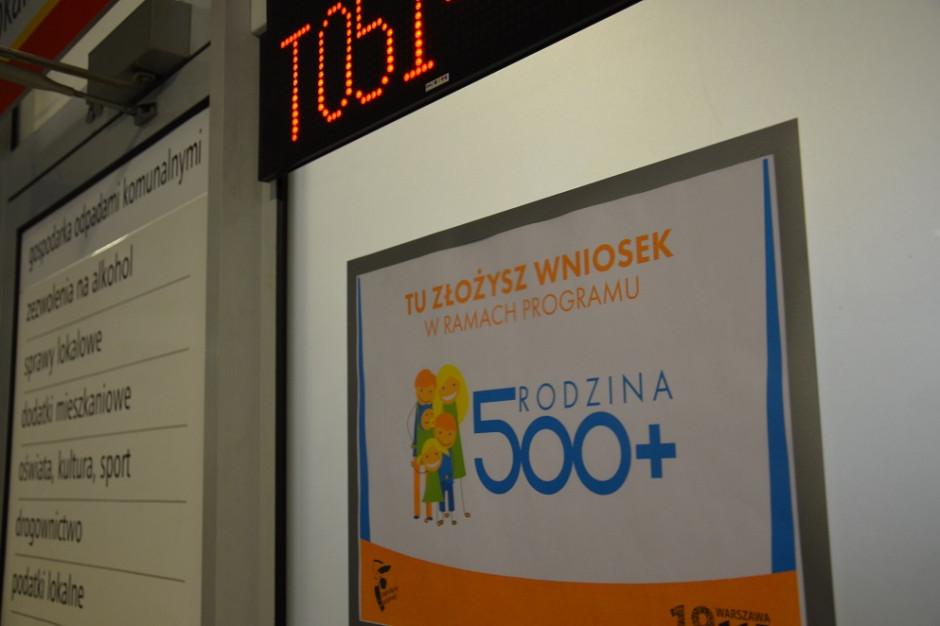 Obsługa programu 500 plus kością niezgody samorządów i rządu