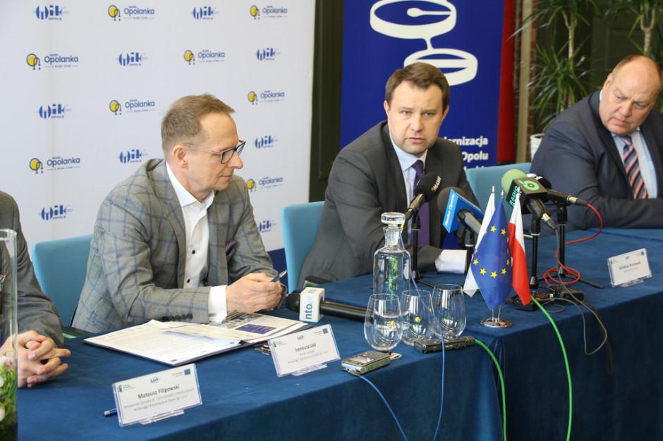 Podpisano umowę na modernizację oczyszczalni ścieków w Opolu
